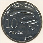 Cocos (Keeling) Islands, 10 cents, 2004