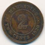 Маврикий, 2 цента (1920 г.)