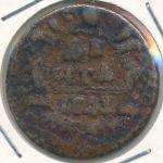 Елизавета (1741—1761), 1 деньга (1743 г.)