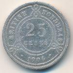 Британский Гондурас, 25 центов (1906 г.)