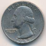 США, 1/4 доллара (1965 г.)