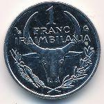Мадагаскар, 1 франк (2002 г.)