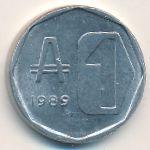 Аргентина, 1 аустраль (1989 г.)