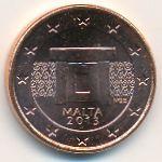 Мальта, 1 евроцент (2013 г.)