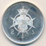 Мальтийский орден, 2 скудо (1988 г.)