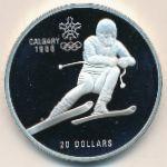 Канада, 20 долларов (1985 г.)