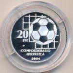 Швейцария, 20 франков (2004 г.)
