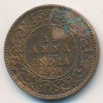 Британская Индия, 1/12 анны (1909 г.)