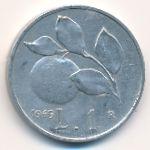 Италия, 1 лира (1949–1950 г.)