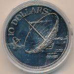 Сингапур, 10 долларов (1980 г.)