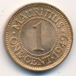 Маврикий, 1 цент (1949 г.)