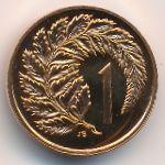 Новая Зеландия, 1 цент (1970–1985 г.)