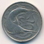 Сингапур, 20 центов (1977 г.)