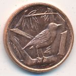 Каймановы острова, 1 цент (2008 г.)