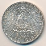 Бавария, 3 марки (1914 г.)