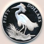Каймановы острова, 50 долларов (1985 г.)