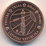 Латвия, 1 евроцент (2003 г.)