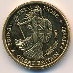 Великобритания, 10 евроцентов (2002 г.)