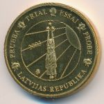 Латвия, 10 евроцентов (2003 г.)