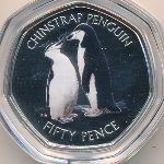 British Antarctic Territory, 50 пенсов,
