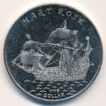 Gilbert Islands, 1 dollar, 2015