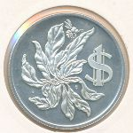 Каймановы острова, 1 доллар (1974 г.)
