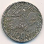 Монако, 100 франков (1950 г.)