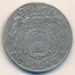 Зальцбург, 20 крейцеров (1781 г.)
