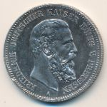 Пруссия, 2 марки (1888 г.)