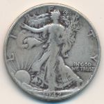 США, 1/2 доллара (1942–1943 г.)