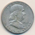 США, 1/2 доллара (1961 г.)