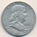 США, 1/2 доллара (1962 г.)