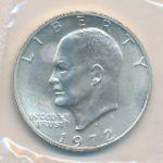 США, 1 доллар (1972 г.)
