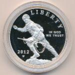 США, 1 доллар (2012 г.)