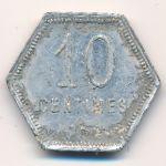Реюньон, 10 сентим (1920 г.)