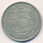 ЮАР, 2 1/2 шиллинга (1934 г.)