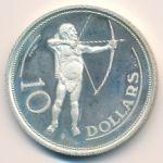 Намибия, 10 долларов (1990 г.)