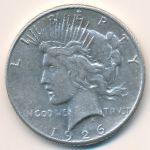 США, 1 доллар (1926 г.)