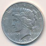 США, 1 доллар (1934 г.)