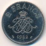 Монако, 2 франка (1979–1982 г.)