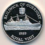 Гернси, 2 фунта (1989 г.)