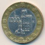 Сан-Марино, 1000 лир (1997 г.)