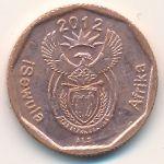 ЮАР, 10 центов (2012 г.)