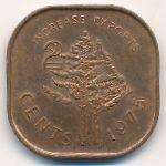 Свазиленд, 2 цента (1975 г.)