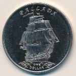 Острова Гилберта, 1 доллар (2014 г.)