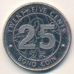 Зимбабве, 25 центов (2014 г.)