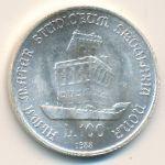 Италия, 100 лир (1988 г.)