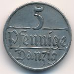 Данциг, 5 пфеннигов (1923 г.)