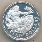 Барбадос, 10 долларов (1973 г.)