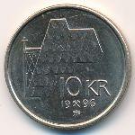 Норвегия, 10 крон (1996 г.)